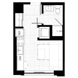 Rendering for Murphy 1 floor plan