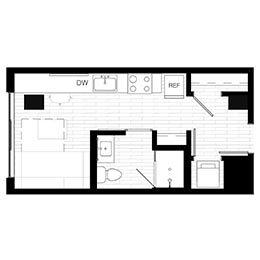 Rendering for Murphy 2 floor plan