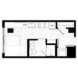 Rendering for Murphy 2 Penthouse floor plan