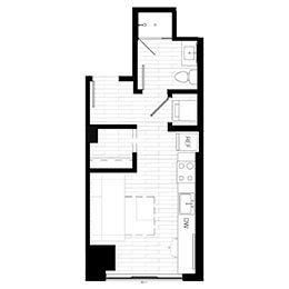 Rendering for Murphy 3 floor plan