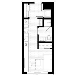 Rendering for Murphy 4 Penthouse floor plan