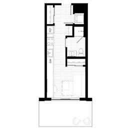 Rendering for Murphy 4 Terrace floor plan